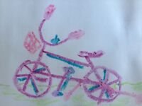 """Looking for 14"""" bike with training wheels for 4-year-old girl"""