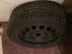 Toyo Snow Tires and Rims (full set)