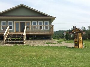 Weekly rental river front Drummond NB