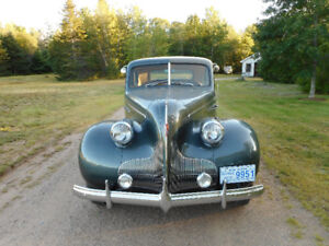 1939 Buick Special Sport Coupe with Opera Seats