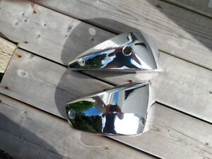 Chrome side covers 1300 V-Star