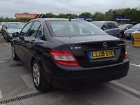 2009 MERCEDES BENZ C CLASS 1.6 C180 BlueEFFICIENCY Kompressor SE Saloon 4dr