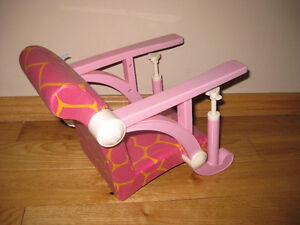 Our Generation/ American girl doll highchair Strathcona County Edmonton Area image 4