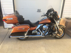 Harley Davidson Ultra Limited in mint condition