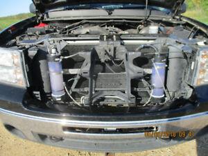 Hydrogen fuel saving system