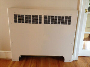 Hot Water In Wall Radiators (5 Available)