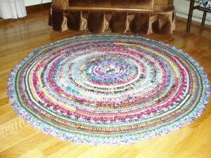 Rug - Hand Made Padded Crochet - $65