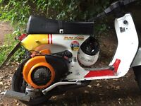 Vespa px 125 cutdown