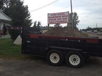 Topsoil and garden mix ready for pick up or delivery!!!!