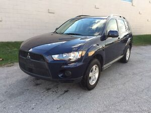 2010 Mitsubishi Outlander ES AWD/CERTIFIED&E-TESTED