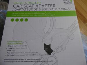 Adapteur universel Baby Jogger pour siege d'auto (coquille)