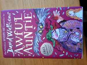 Hardcover Awful Auntie youth book