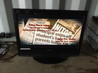 """E motion 22"""" hd LCD tv for sale"""