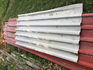 steel roofing - heavy weight - old-never used