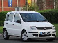 2009 Fiat Panda 1.1 Active ECO Petrol White..1 YEAR WARRANTY + JUST SERVICED
