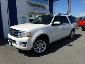 2017 Ford Expedition Limited 4x4, Nav, Leather, Sunroof, 8 Passa