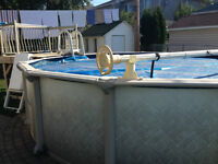 Piscine 18' hors terre / 18' above ground pool