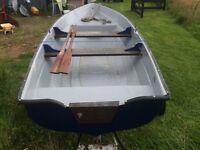 14ft fibreglass fishing boat