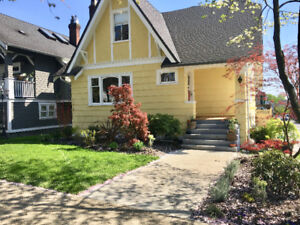 Bright Yellow House For Rent in Hastings Sunrise/East Vancouver