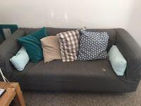 2 x IKEA KLIPPAN SOFAS