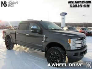 2017 Ford F-350 Super Duty Platinum  - Navigation