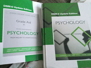Psychology: Inquiry to understanding. Textbook and grade aid.