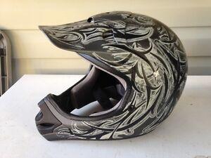 2 ATV helmets for sale $30.00 each
