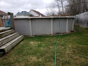 Above Ground Pool 24 foot Round