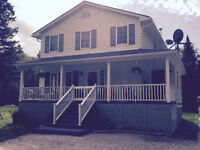 Lovely 2 story house on 10 acre private lot in French River