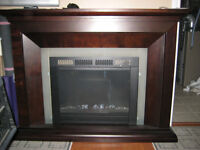 Large Electric Fireplace with Remote Control