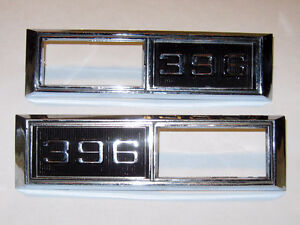 68 Chevelle 68 69 Nova Super Sport 396 side marker light bezels Edmonton Edmonton Area image 2