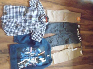 Boys clothing size 7-8, some new with tags