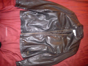 Mint condition Marc New York leather jacket. Mens large