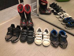 Boys shoes + winter boot Nike Adidas Sketchers BOGS