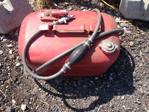 mercury motor gas tank and line