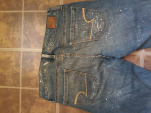 American eagle sparkle jeans. worn like once.