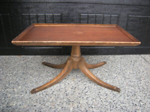 Vintage Walnut Duncan Phyfe Coffee Table