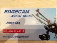 Edgecam aerial photography drone service