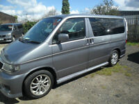 MAZDA BONGO 2.0 . AUTO 2005 05 PLATE AERO CITY RUNNER AUTO JUST ARRIVED 56K