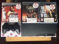 PlayStation PS3 + 4 games