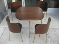 Ultra Modern Compact Table and Chairs