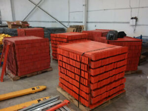 We have about 2000 pallet bars for redi rack warehouse rack