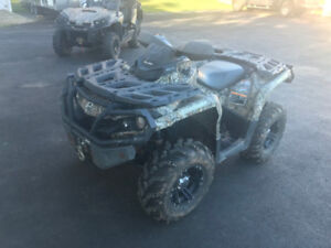 2012 CAN AM 1000 OUTLANDER XT ( WE FINANCE ) $55.00
