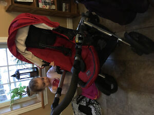 Britax B Ready Stroller with Infant Car Seat Adapter