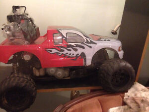 1/5 scale 30cc redcat rampage
