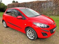 Mazda2 1.3 2012 5dr/speed Tamura 84bhp 22000 miles 1 lady owner from new, FMSH,