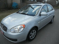 2007 Hyundai Accent Sedan loaded 3795