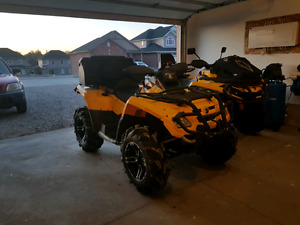 2007 can am max st 800cc