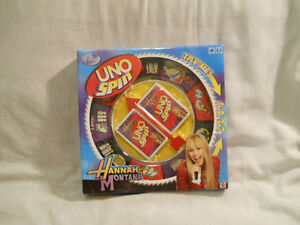 Hannah Montana UNO Spin-new in box London Ontario image 1