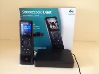Logitech squeezebox duet